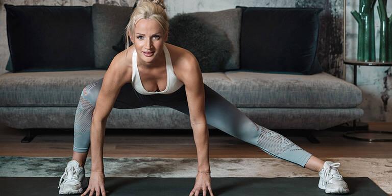 Ihr Isolations-Fitness-Programm für zu Hause