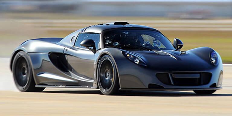 Weltrekord: In 13,6 Sekunden auf 300 km/h