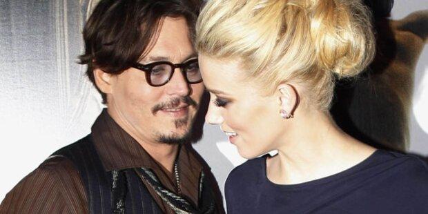 Depp: Verhältnis mit Co-Star Amber Heard?