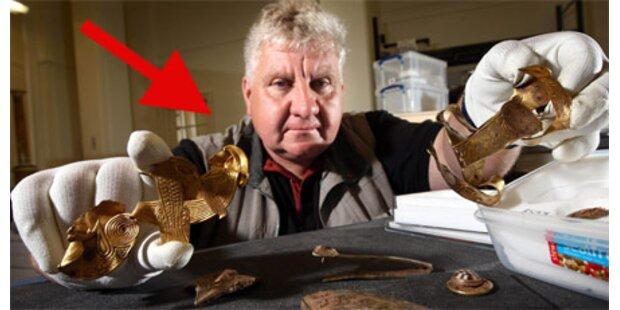 Riesiger Goldschatz in England entdeckt