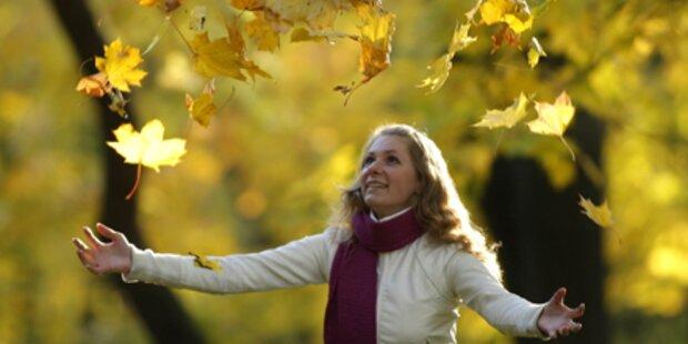 Herbstwochenende wird richtig sonnig