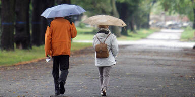 Herbst Regen Wetter