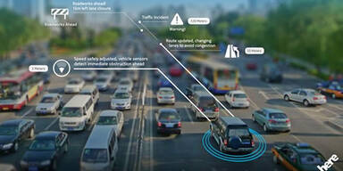 Here öffnet Plattform zum Austausch von Fahrzeugdaten