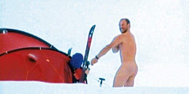 Maier: Nacktinator am Südpol