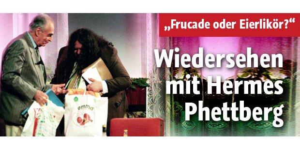 Wiedersehen mit Hermes Phettberg
