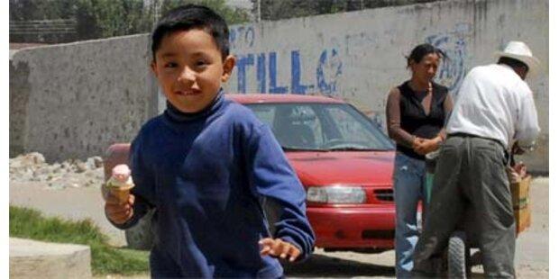 Denkmal für den ersten Kranken in Mexiko