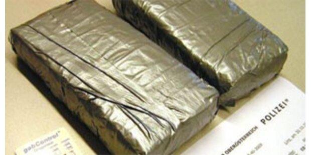 Sechs Kilo Heroin im Rucksack