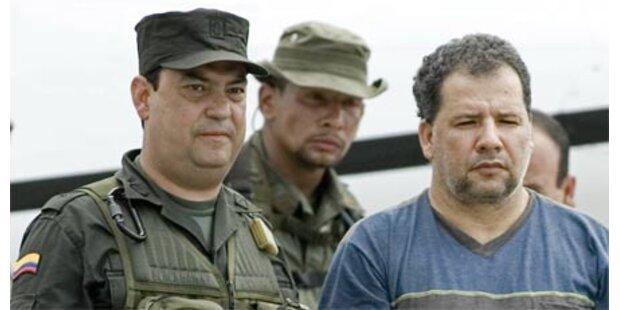 Größter Drogenbaron Kolumbiens gefasst