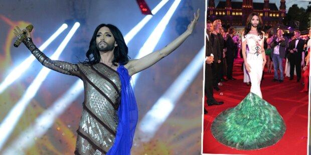Conchita: Darum die Kostümwechsel