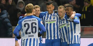 Kurios: Hertha vergibt Tattoo-Dauerkarte