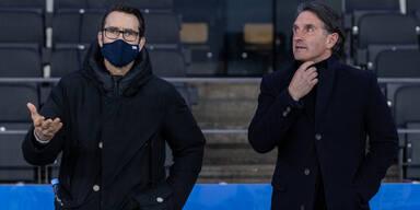 Beben in Berlin: Hertha entlässt Trainer und Manager