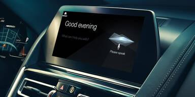Nun hören auch BMW-Modelle aufs Wort