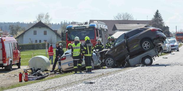 Ried im Innkreis Crash zwei Tote