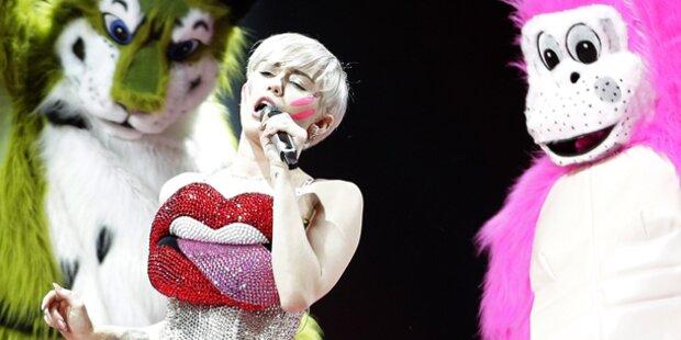 So versexte Miley Cyrus ganz Wien