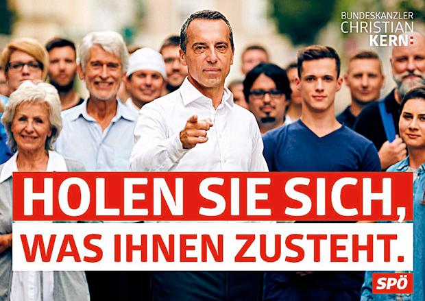 Kern Wahlplakate