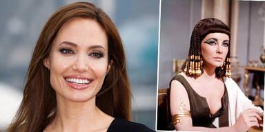 Angelina Jolie, Elizabeth Taylor als Cleopatra