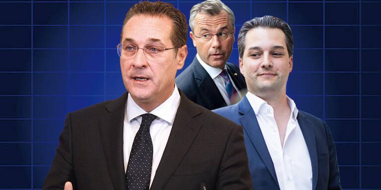 Nepp stinksauer: ''Strache verhöhnt FPÖ-Unterstützer''