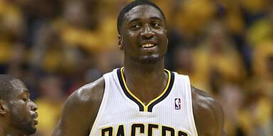 Strafe für Pacers-Star Hibbert