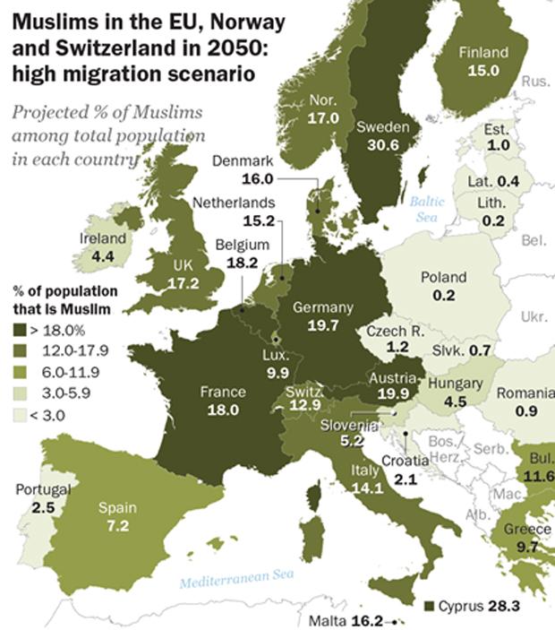 Anteil der Muslime in Deutschland steigt auch ohne Migration