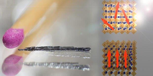 Neues Hightech-Material für Festplatten