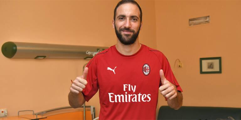 Mega-Deal: Higuain zu Milan