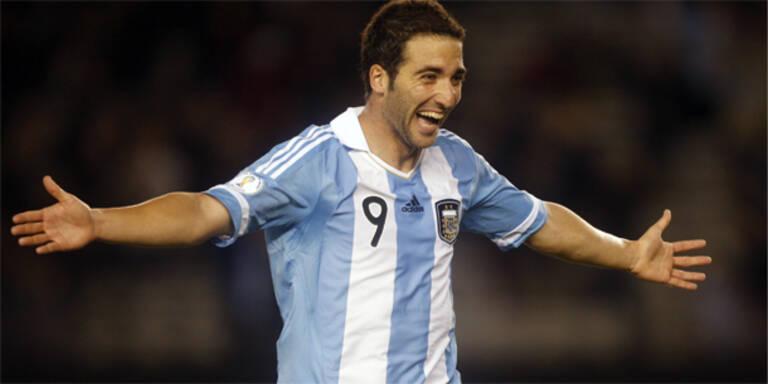 Argentinien starten mit 4:1 in WM-Quali