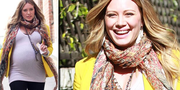 Hilary Duff: Sie ist endlich Mama geworden