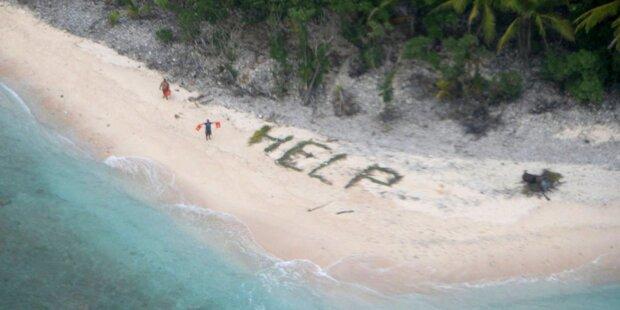 Schiffbrüchige von Pazifik-Insel gerettet