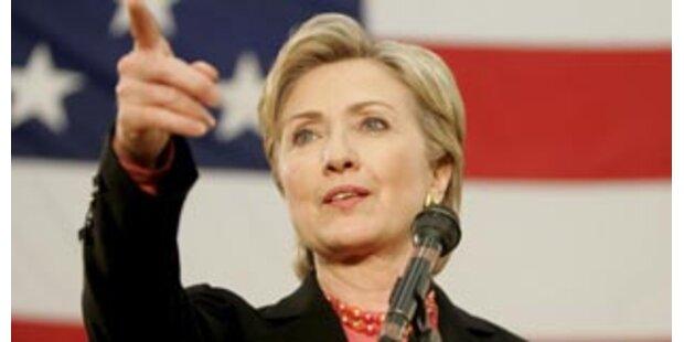 Hillary attackierte Obama im Fernsehen
