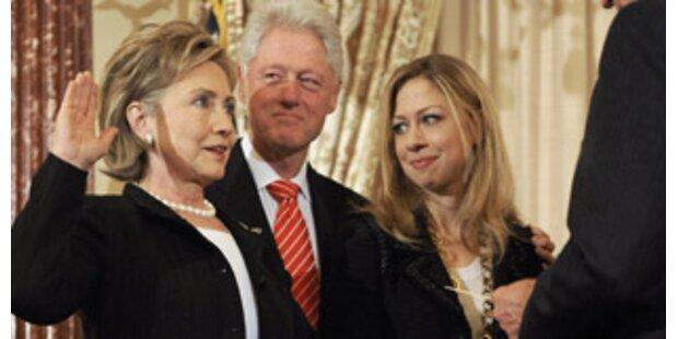 Hillary spielt auf Monica Lewinsky an