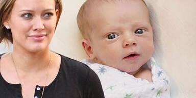 Hilary Duff zeigt ihren süßen Sohn Luca