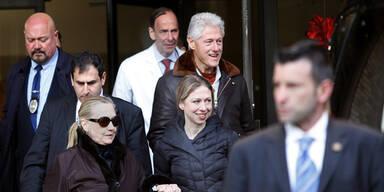 Hillary Clinton aus dem Spital entlassen