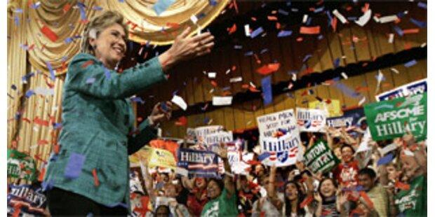 Geldsegen nach Hillarys Sieg in Pennsylvaia