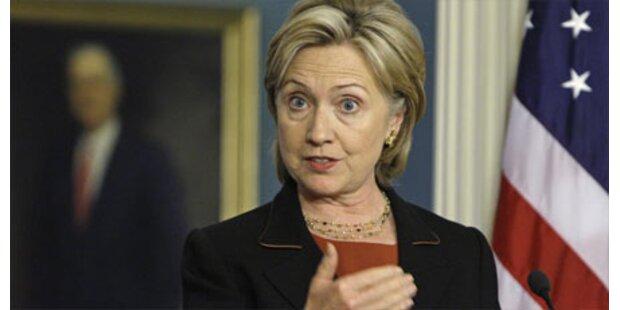 Hillary Clinton besucht Europa