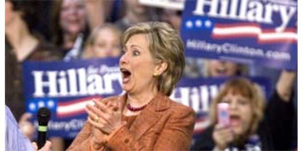 Clinton-Team entscheidet im Juni über Bewerbung