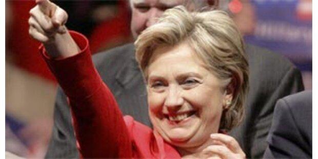 Clinton schließt freiwilligen Verzicht aus