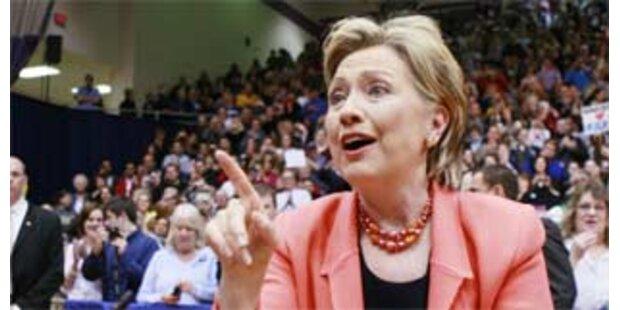 Obama-Anhänger sollen Clinton-Fans an Wahl hindern