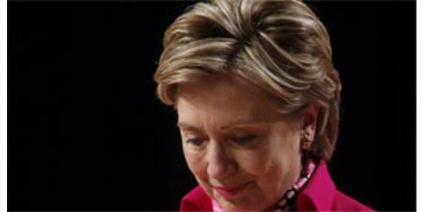 Hillary fällt in Umfragen zurück