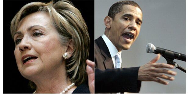 US-Präsidentschaftskandidaten buhlen um Hollywood