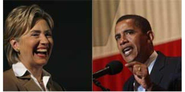 Clinton vs. Obama bei Vorwahl in Iowa