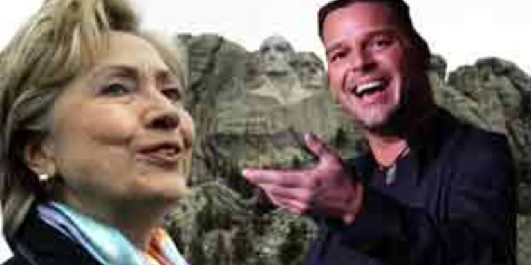 Ricky Martin wirbt für Hillary Clinton