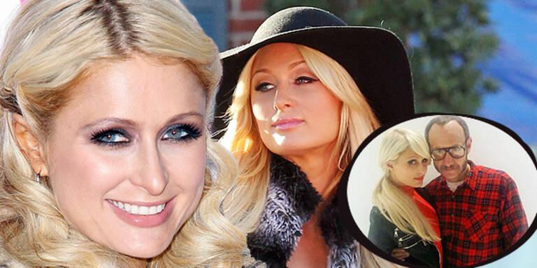 Paris Hilton bald auf der Vogue