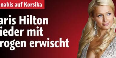 Paris Hilton mit Drogen erwischt