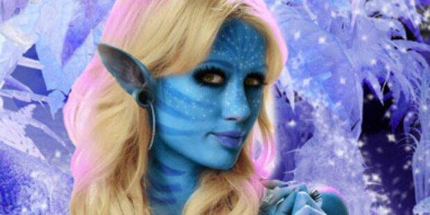 Paris Hilton zeigt sich als Avatar Na'vi
