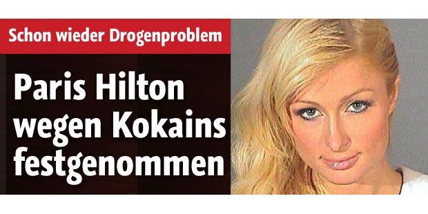 Paris Hilton wegen Kokains festgenommen