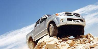 Extrem-Offroader Toyota Hilux im Test