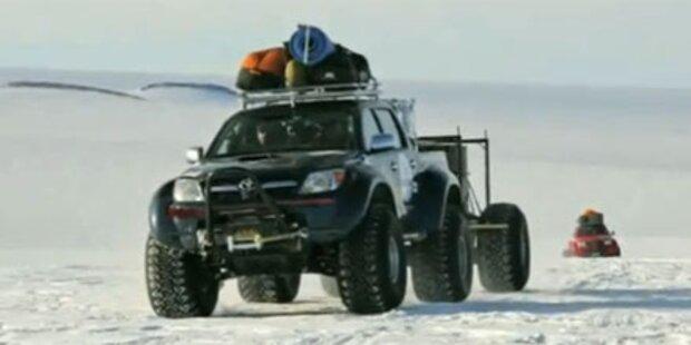Mit dem Toyota Hilux zum Südpol