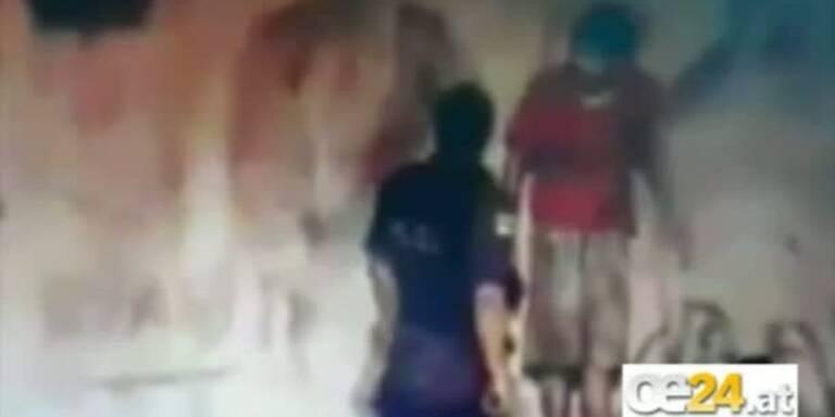 Überwachungsvideo zeigt Hinrichtung