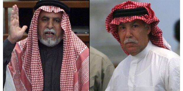 Galgen köpft Saddams Halbbruder