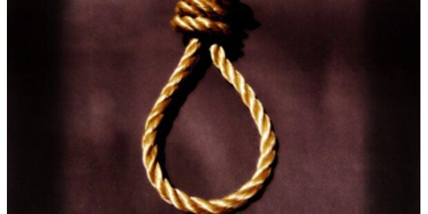 Wieder zum Tatzeitpunkt Minderjähriger gehängt